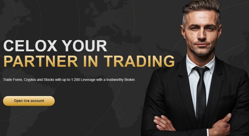 celox live CFD Brokerage review